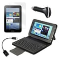 Mgear Accessories Bluetooth Keyboard Folio with OTG Cable and More for Samsung Galaxy Tab 2, 7in.