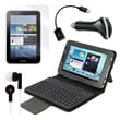 "Mgear Accessories 93587997M PU Leather Keyboard Folio Case for 7"" Samsung Galaxy Tab 2 Tablet, Black"