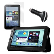 """Mgear Accessories 93587998M Synthetic Leather Accessory Kit for 7"""" Samsung Galaxy Tab 2, Black"""