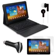 "Mgear Accessories 93588002M PU leather Bluetooth Keyboard Folio Case for 10.1"" Samsung Galaxy Tab Tablet, Black"
