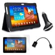 Mgear Accessories Folio Case with Screen Protector & More Samsung Galaxy Tab