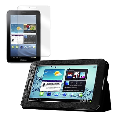 Mgear Accessories Samsung Galaxy Tab 2 Double Fold Folio Case with Screen Protector, 7.0''