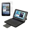Mgear Accessories Galaxy Tab 2 Bluetooth Keyboard Folio with Screen Protector, 7.0in. Tablet