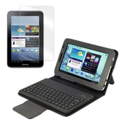 "Mgear Accessories 93587650M PU Leather Keyboard Folio Case for 7"" Samsung Galaxy Tab 2 Tablet, Black"