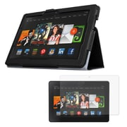 """Mgear Accessories 93586908M Synthetic Leather Folio Case for 8.9"""" Amazon Kindle Fire HDX 8.9 Tablet, Black"""