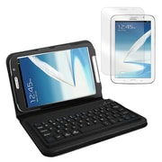 "Mgear Accessories 93587572M PU leather Bluetooth Keyboard Folio Case for 8"" Samsung Galaxy Note Tablet, Black"