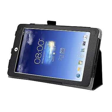 Mgear Accessories Black Double-Fold Folio Case for ASUS Memo