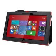 Mgear Accessories 93587259M Synthetic Leather Double Fold Folio Case for Nokia Lumia 2520 Tablet, Black