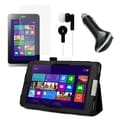 Mgear Accessories Acer Iconia W4 Folio Case with Screen Protector, Earphones, and Car Charger