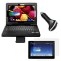 Mgear Accessories Bluetooth Keyboard Folio with Screen Protector & Car Charger for ASUS Memo Pad