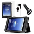 Mgear Accessories ASUS MeMO Pad HD 7 Folio Case with Screen Protector, Earphones, and Car Charger
