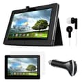 Mgear Accessories ASUS MeMO Pad Smart 10 Folio Case with Screen Protector, Earphones & Car Charger