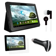 Mgear Accessories Folio Case with Screen Protector & Car Charger for ASUS Transformer Pad Infinity