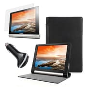 """Mgear Accessories 93587778M PU Leather Folio Case for 8"""" Lenovo Yoga Tablet, Black"""