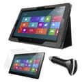 Mgear Accessories Lenovo ThinkPad 2 Folio Case with Screen Protector and Car Charger