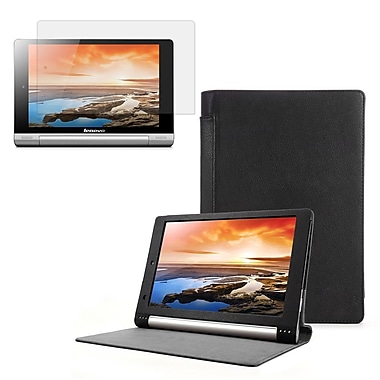 Mgear Accessories 93586970M Synthetic Leather Folio Case for Lenovo Yoga 10 (B8000) Tablet, Black