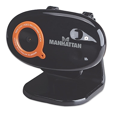 Manhattan Hi-Speed USB 460545 Widescreen HD Web Camera with 860 WX