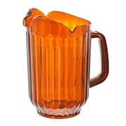 Supera P-60, 60 oz Amber Polycarbonate Water Pitcher