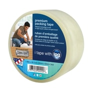 Intertape® Premium 1.88 x 60 yds. Packing Tape W/Corrugrip, Clear, 16 Roll