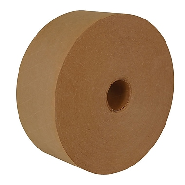 Intertape® 70mm x 114m Medallion Reinforced Water Activated Tape, Natural, 8 Roll