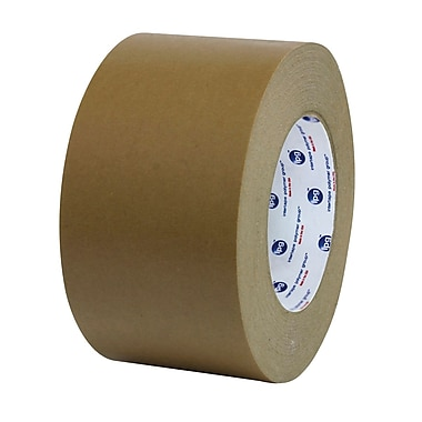Intertape® PM2 42mm x 50.2m Medium Grade Paper Flatback Tape, Tan, 24 Roll