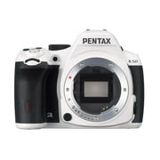 Pentax K-50 16.3MP Digital SLR Camera Body Only, White