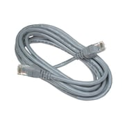 Belkin™ 10' Cat5e RJ45 Male/Male Snagless UTP Patch Cable, Gray