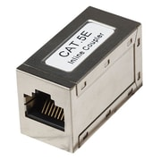 INTELLINET™ RJ-45 Femal/Female Cat5e Modular Inline Coupler, Silver