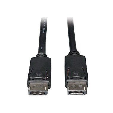 Tripp Lite P580-025 25' DisplayPort Monitor Cable, Black
