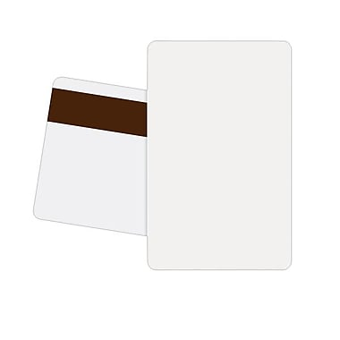 Zebra® Premier Plus Polyvinyl Chloride Magnetic Stripe ID Card For P120i Printer, 500/Box