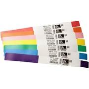 "Zebra® Z-Band Direct 1"" x 6"" Polypropylene Wristband For H 2824-Z/LP 2824 Printer"