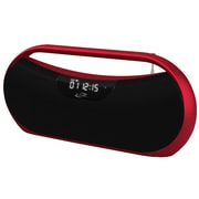 iLive™ IBB313 Bluetooth Portable Boombox, Red