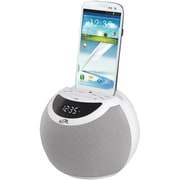 iLive™ ICB103 Wireless Bluetooth Clock Radio, White