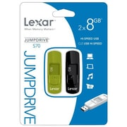 Lexar® Jumpdrive® S70 8GB USB 2.0 USB Flash Drive (Green)