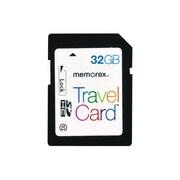 Memorex™ TravelCard 32GB Secure Digital High Capacity (SDHC) Card