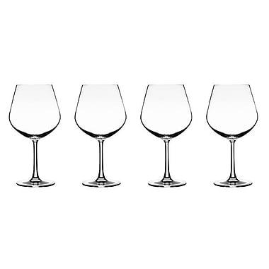 Conair® Vivere Burgundy Wine Glass, 4/Set