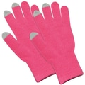 Amzer® Capacitive Touch Screen Knit Gloves, Pink