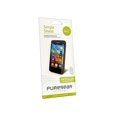 PureGear® Simple Shield Anti-Glare Screen Protector For iPhone 5S/5/5C, Black