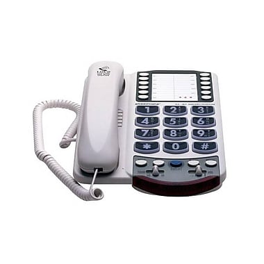 Clarity® XL40A Amplified Corded Telephone With Programmable One-Touch Dial Up