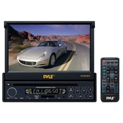 "Pyle® PLTS73FX 7"" Single DIN In-Dash Motorized TFT/LCD Touch Screen Monitor With Multimedia Player"