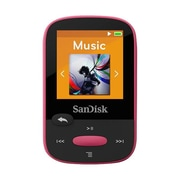 SanDisk ® Clip Sport SDMX24-008G-A46P 8GB Flash MP3 Player, Pink