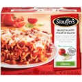 Stouffers Classic Recipes Lasagna with Meat & Sauce 10.5 Oz., 8/Pack