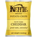 Kettle Brand New York Cheddar Potato Chips with Herbs 2 Oz.
