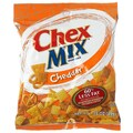 Chex Mix Cheddar Flavor Snack, 0.10 lbs., 48/Pack