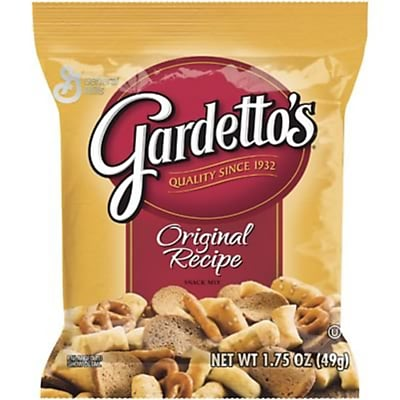 Gardetto's® Snack Mix, Original, 1.75 oz. Bags, 60 Bags/Box