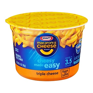 Kraft Macaroni & Cheese 3 Pack 16 Oz., 12/ct