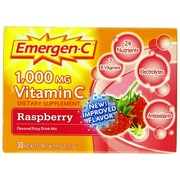 Emergen-C Dietary Supplement Raspberry 17.6 Oz. 60/Pack