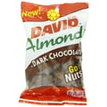 David Dark Chocolate Almonds, 5 Oz. 8/Pack
