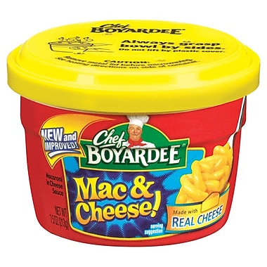Chef Boyardee Macaroni and Cheese 7.5 Oz. 12/Pack