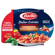 Barilla Tomato & Basil Whole Grain Penne Italian Entree Microwavable Bowls 9 Oz. 6/Pack
